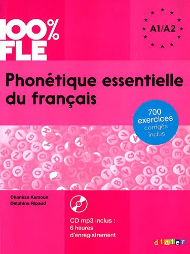 Phonetique Essentielle Du Francais A1 A2 Livre Cd Mp3